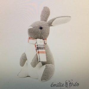 Emilie & Theo Noel the Rabbit 🐇 Door stop 🛑 New
